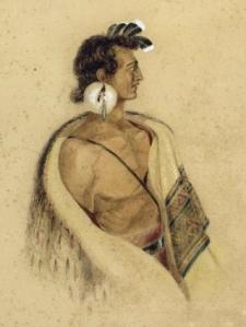 Charles Heaphy, 1840.